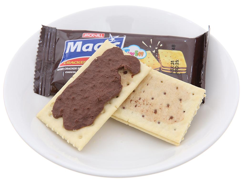 Bánh quy siêu giòn hai lớp kem socola Magic Twin hộp 300g 2