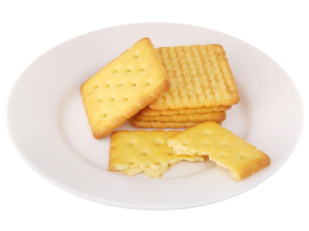 Bánh cracker lúa mì AFC Dinh Dưỡng hộp 200g 5