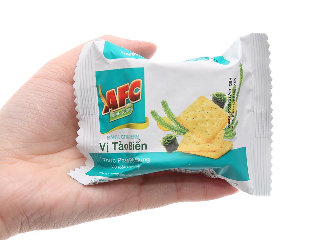 Bánh quy tảo biển AFC Dinh dưỡng 200g 4