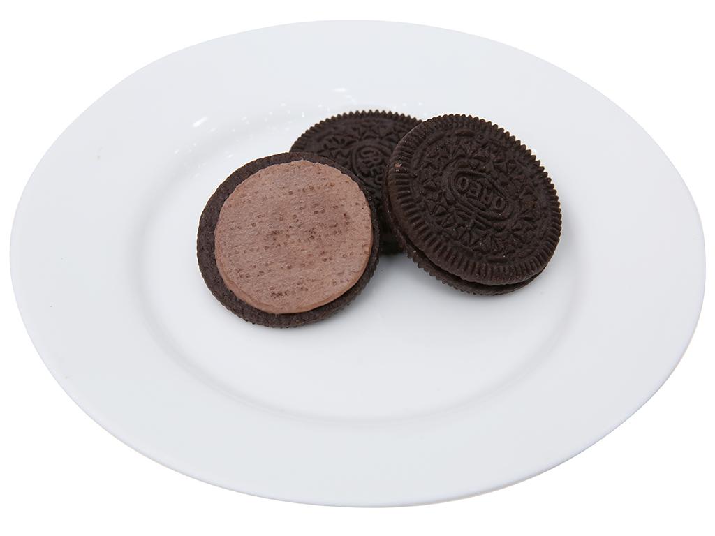 Bánh quy socola nhân kem socola Oreo gói 133g 6