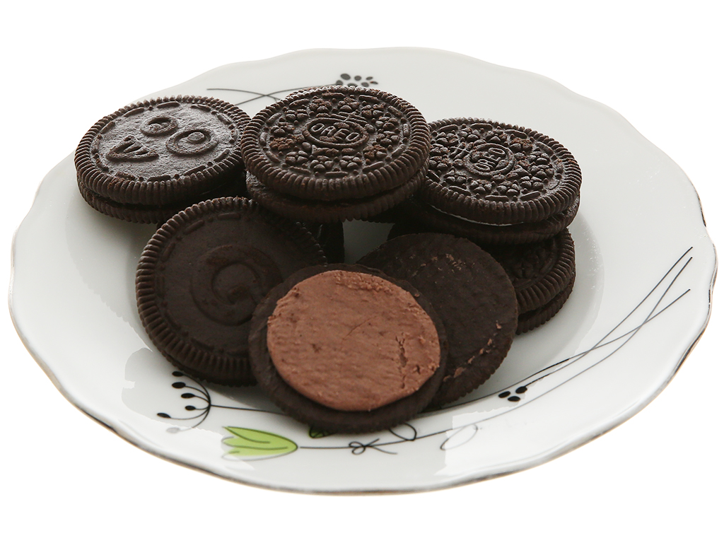 Bánh quy Oreo kem socola gói 133g 5