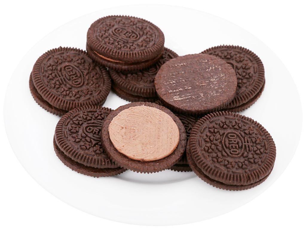Bánh quy Oreo kem socola gói 133g 6