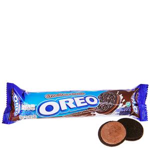 Bánh quy socola nhân kem socola Oreo gói 137g