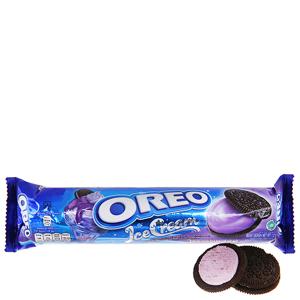 Bánh quy socola nhân kem việt quất Oreo gói 137g