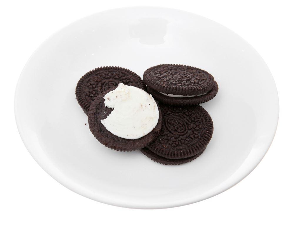 Bánh quy nhân kem vani Oreo gói 66.5g 4