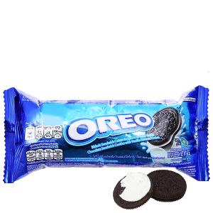 Bánh quy socola Nhân kem vani Oreo gói 68.5g