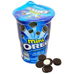 Bánh quy socola kem hương vani Oreo Mini ly 67g