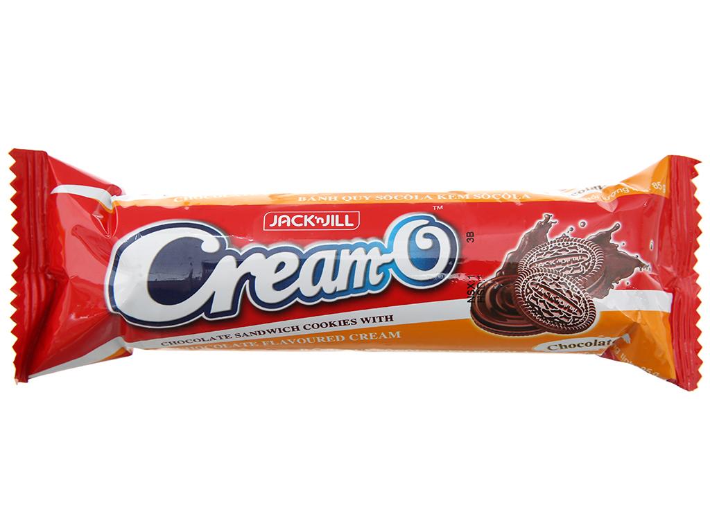 Bánh quy Cream-O socola nhân kem hương socola 85g 1