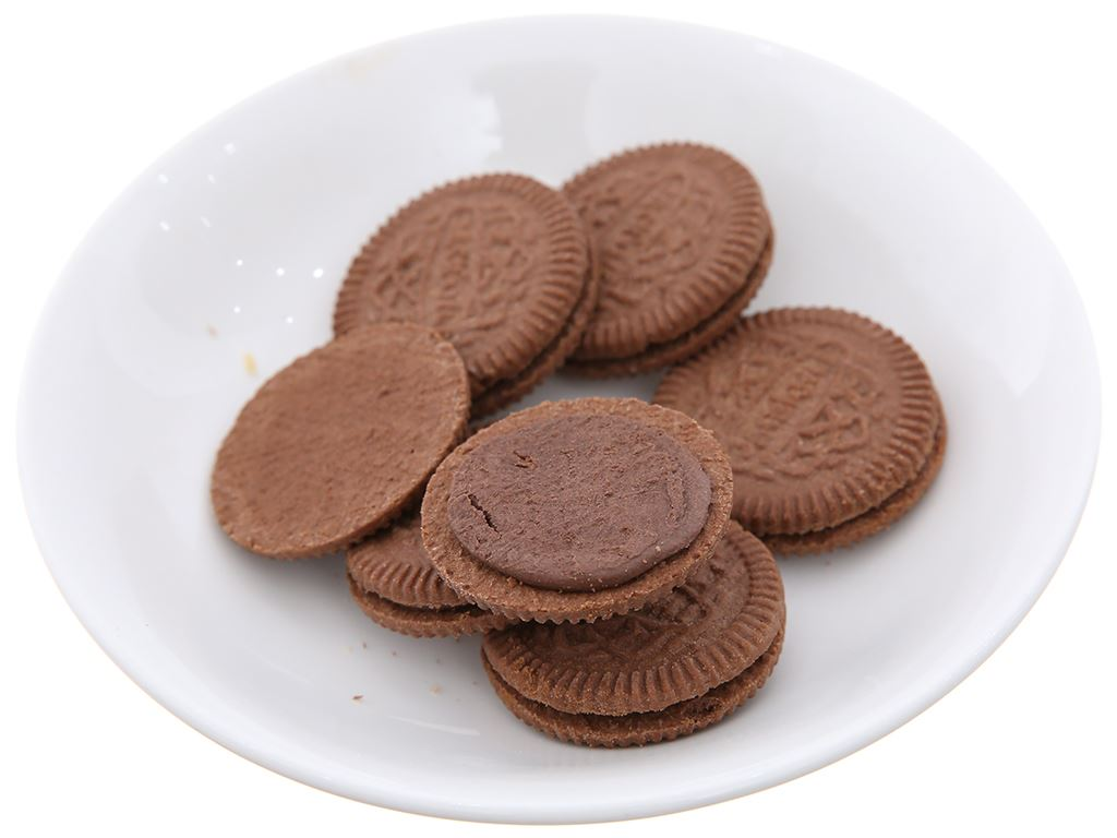 Bánh quy socola nhân kem socola Cream-O gói 85g 5