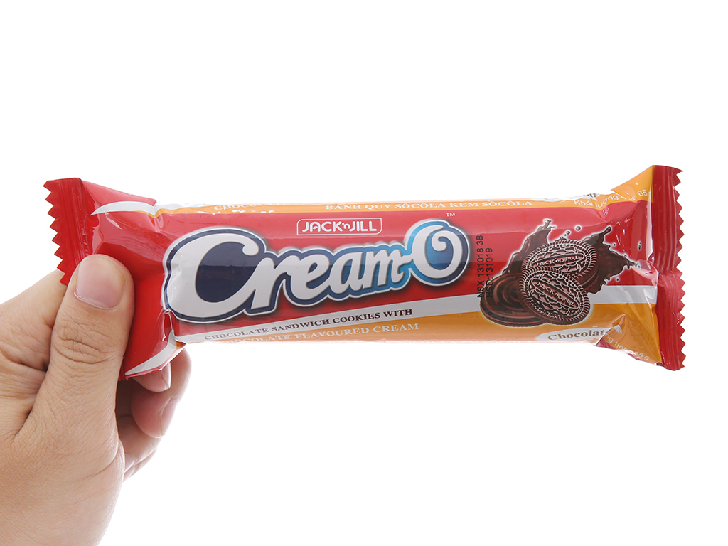 Bánh quy Cream-O socola nhân kem hương socola 85g 4
