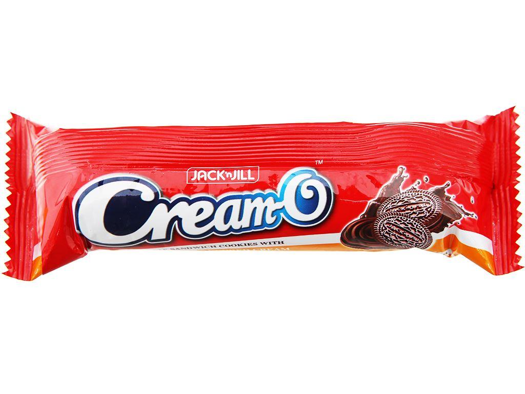Bánh quy socola nhân kem socola Cream-O gói 85g 3