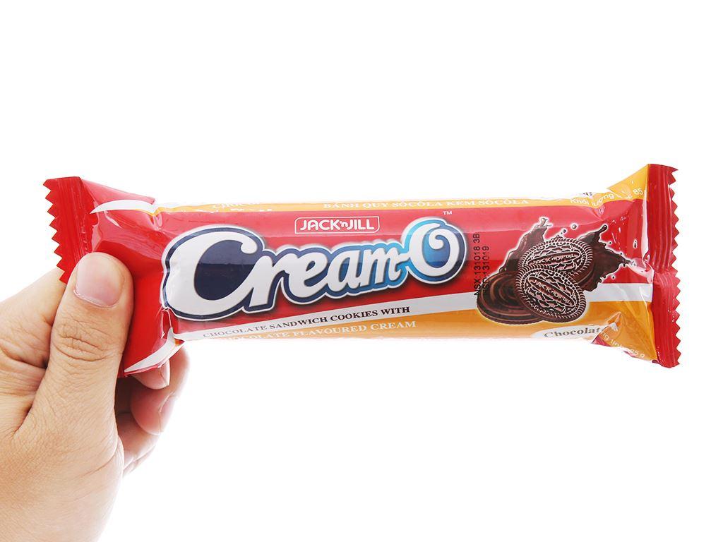 Bánh quy socola nhân kem socola Cream-O gói 85g 4