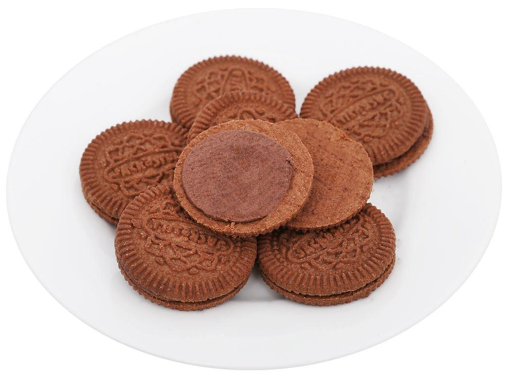 Bánh quy socola nhân kem socola Cream-O gói 54g 8