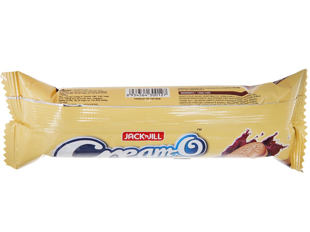 Bánh quy Nhân kem socola Cream-O gói 85g 3