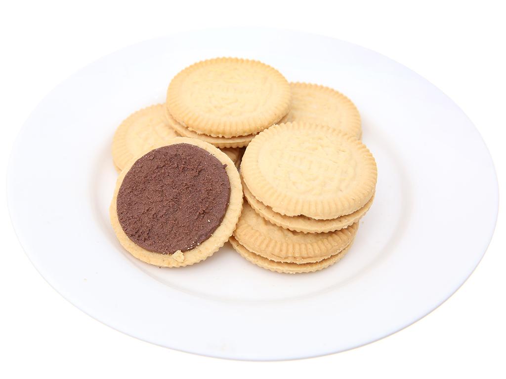 Bánh quy Nhân kem socola Cream-O gói 85g 6