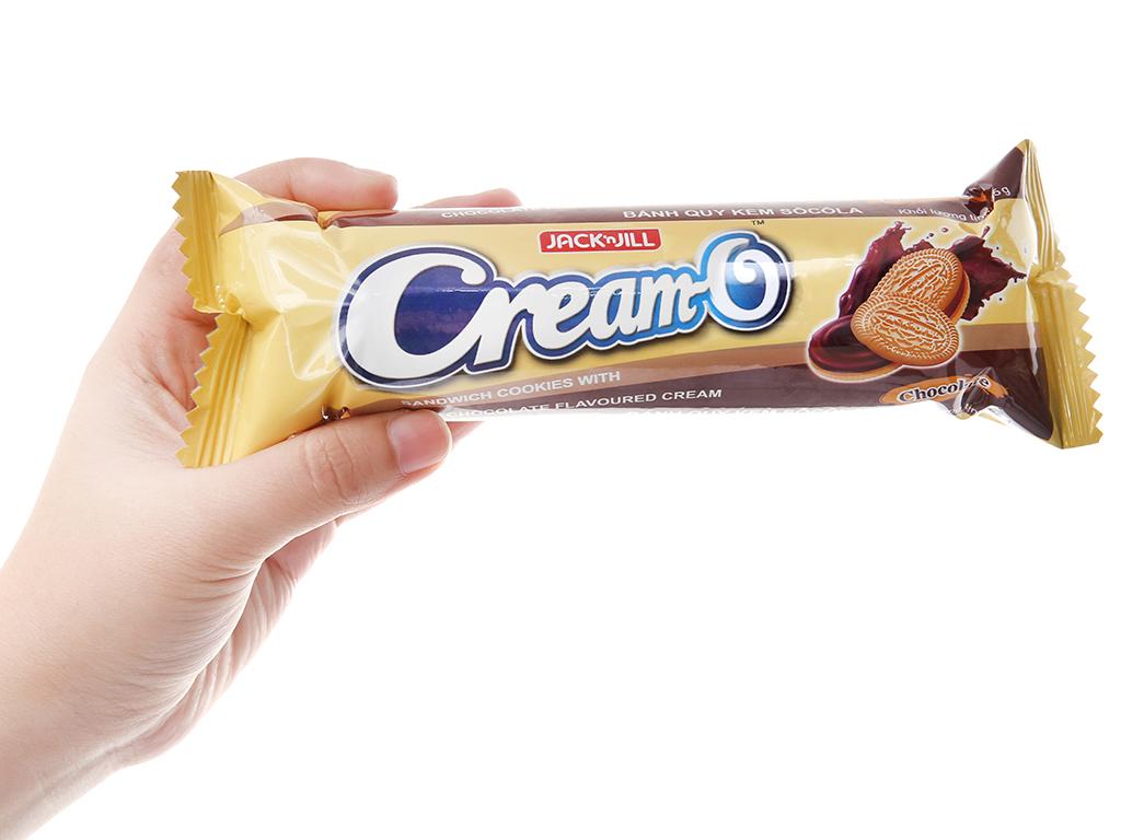Bánh quy Nhân kem socola Cream-O gói 85g 5