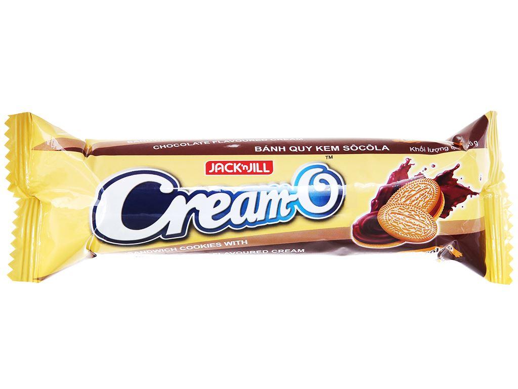 Bánh quy nhân kem socola Cream-O gói 85g 1