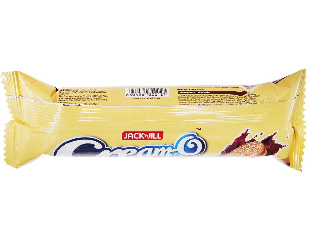 Bánh quy nhân kem socola Cream-O gói 85g 2