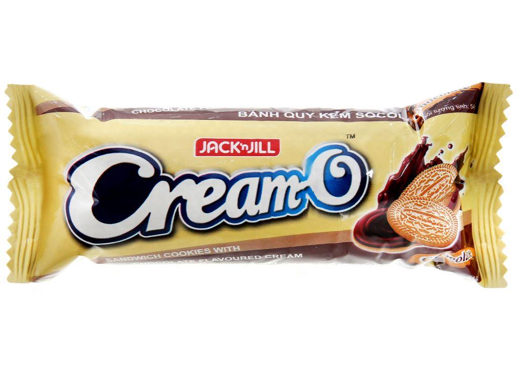 Bánh quy nhân kem socola Cream-O gói 54g 1