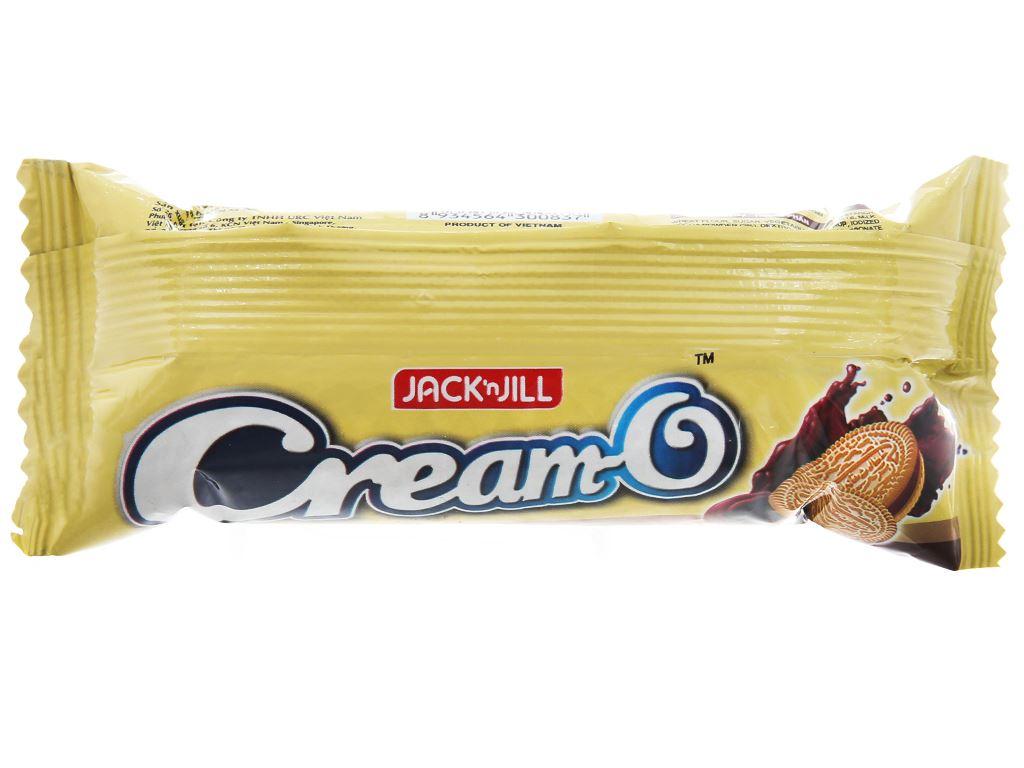 Bánh quy nhân kem socola Cream-O gói 54g 2