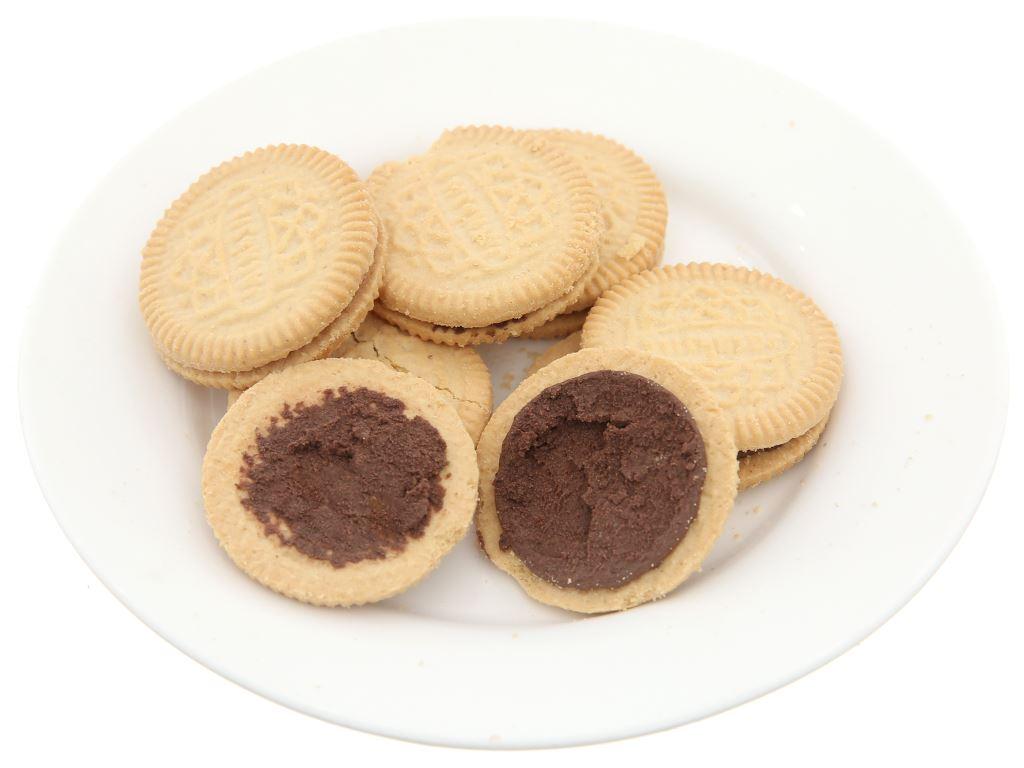 Bánh quy nhân kem socola Cream-O gói 54g 4