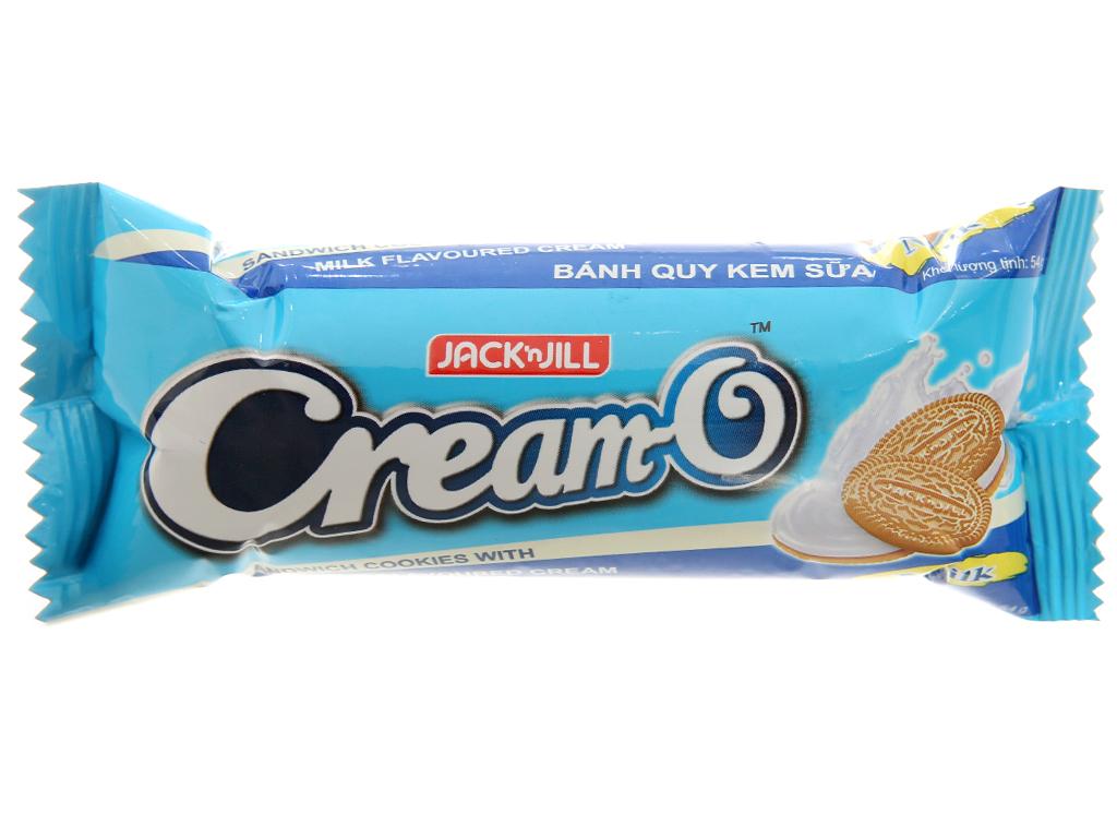 Bánh quy Cream-O nhân kem hương sữa 54g 1