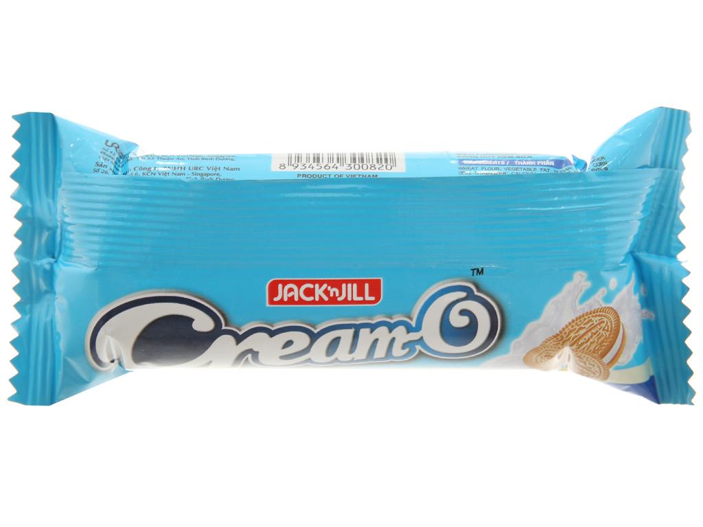 Bánh quy kem sữa Cream-O gói 54g 2