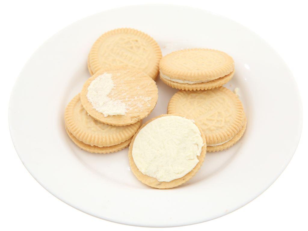 Bánh quy Cream-O nhân kem hương sữa 54g 3