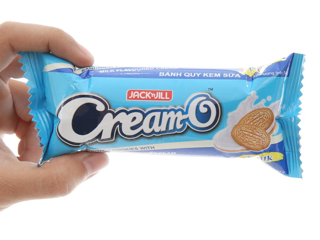 Bánh quy Cream-O nhân kem hương sữa 54g 4