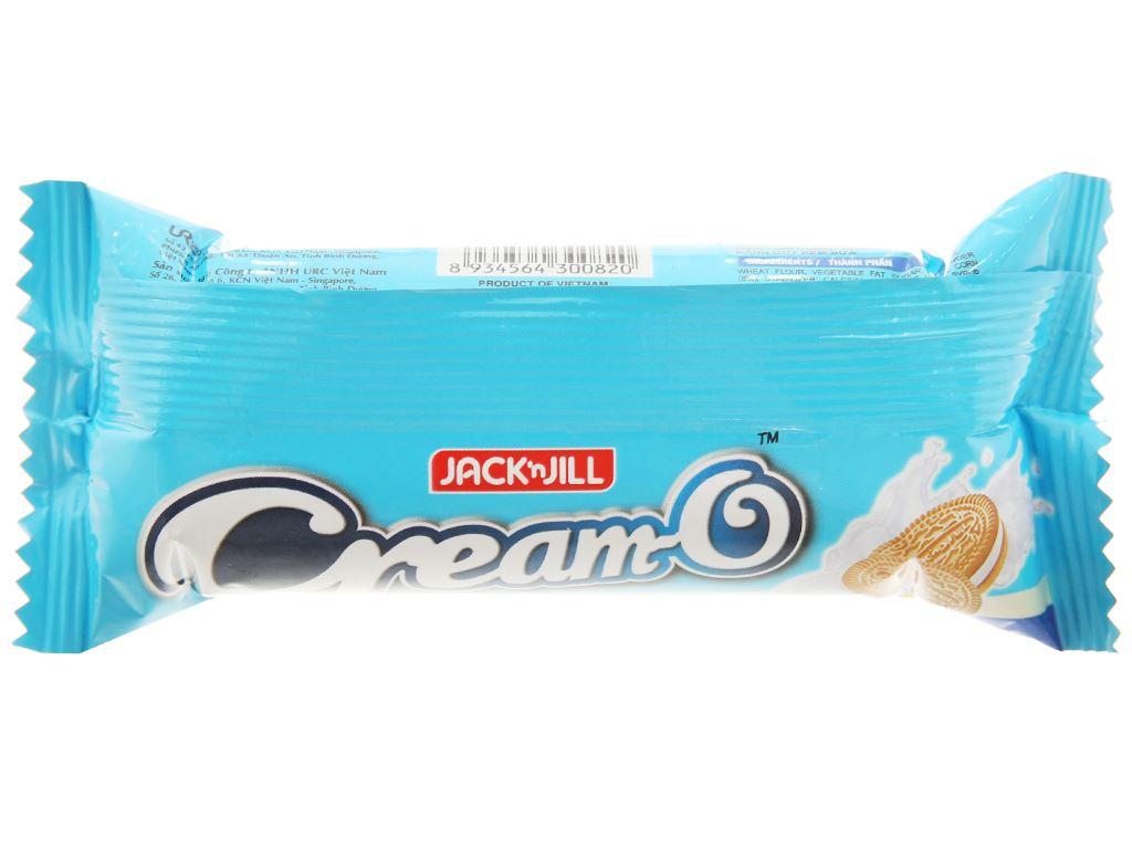 Bánh quy nhân kem sữa Cream-O gói 54g 3