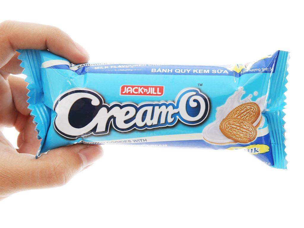 Bánh quy nhân kem sữa Cream-O gói 54g 4