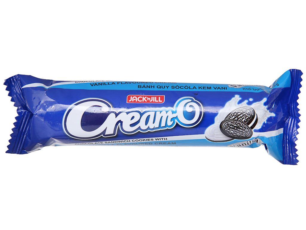 Bánh quy Nhân kem hương vani Cream-O gói 93g 2