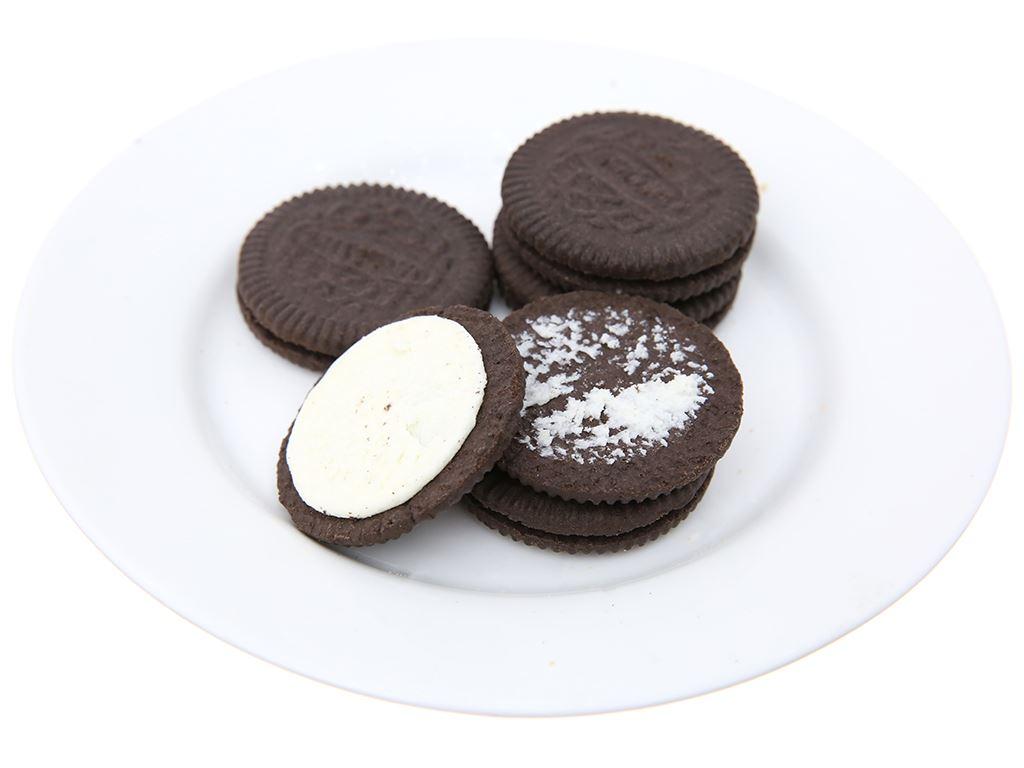 Bánh quy Nhân kem hương vani Cream-O gói 93g 6