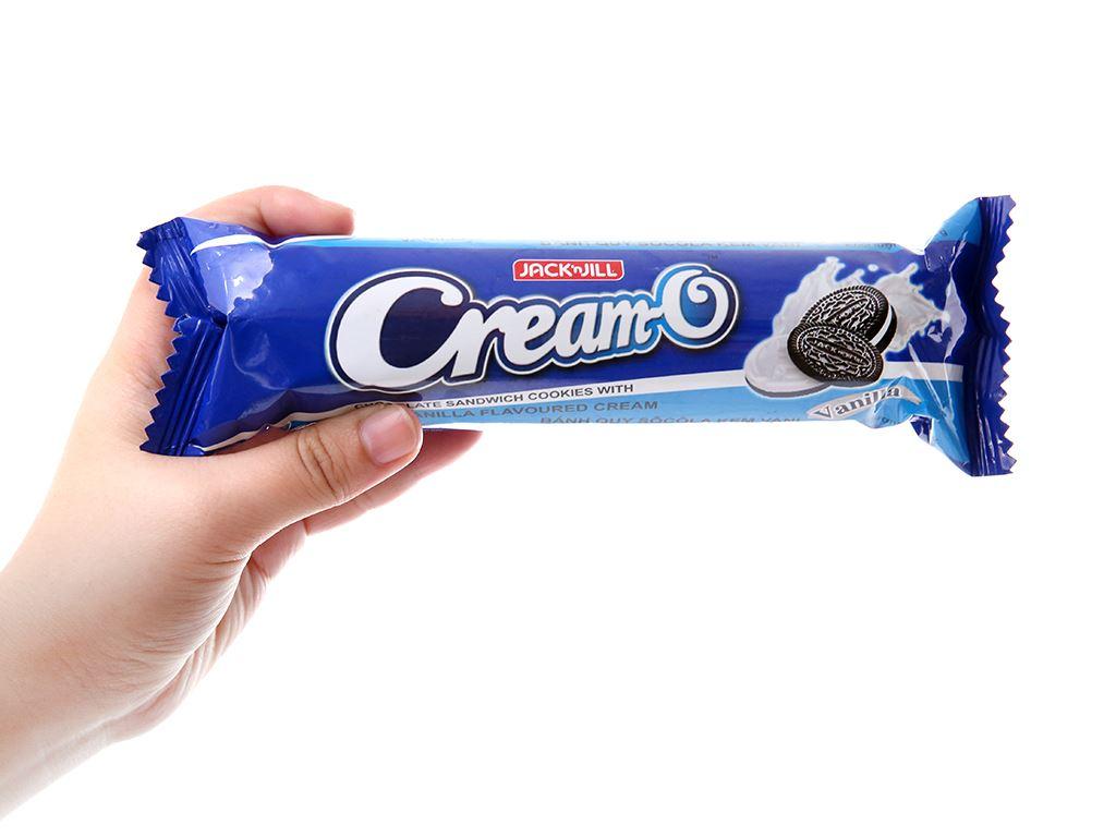 Bánh quy Nhân kem hương vani Cream-O gói 93g 5