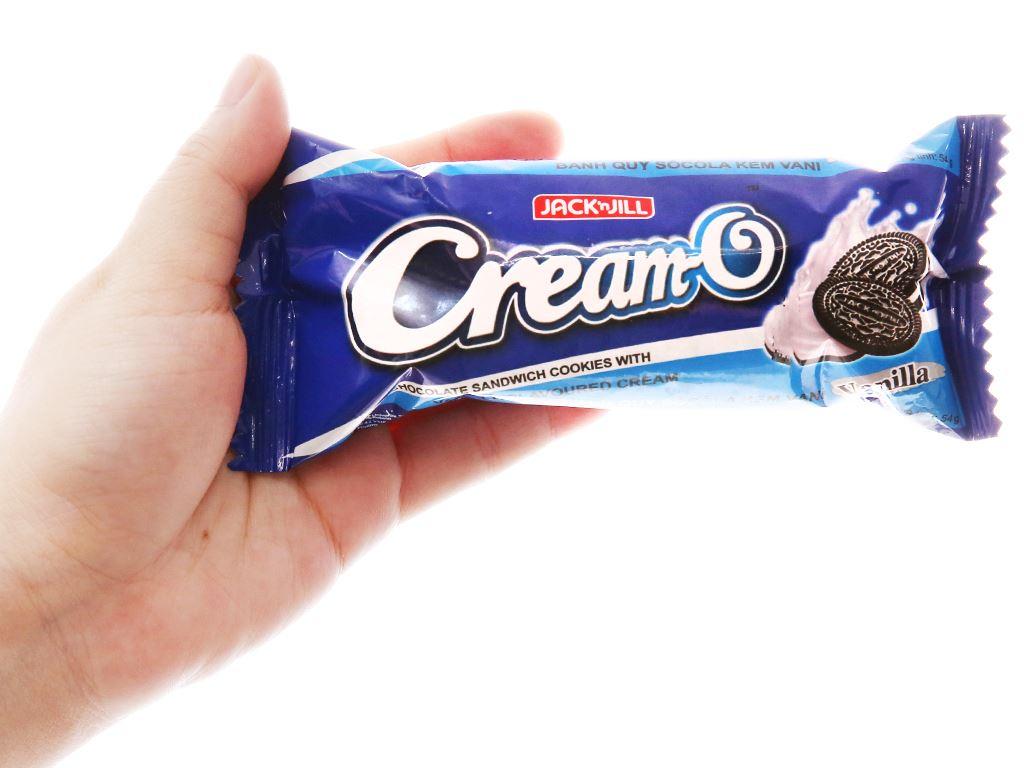 Bánh quy kem vani Cream-O gói 54g 4