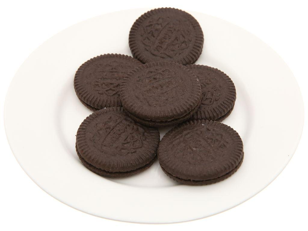 Bánh quy socola Nhân kem hương vani Cream-O gói 54g 3