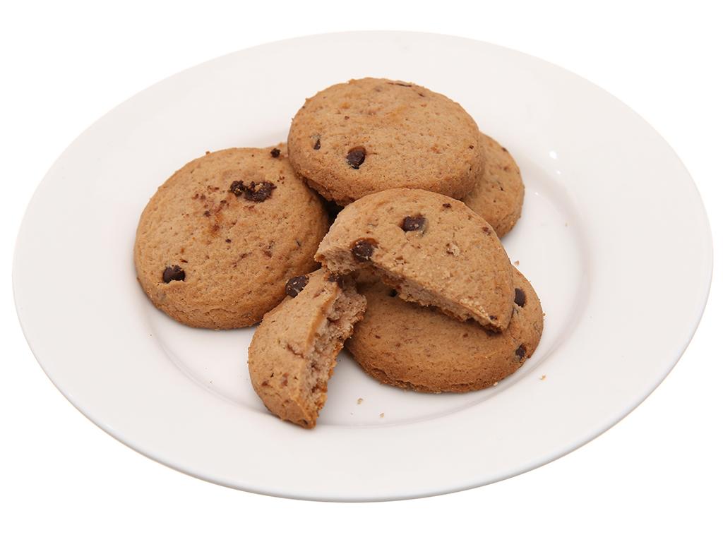 Bánh quy sôcôla chip nho Choco Chips gói 80g 4