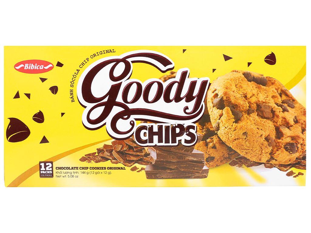 Bánh quy socola chip Original Goody Chips hộp 144g 1