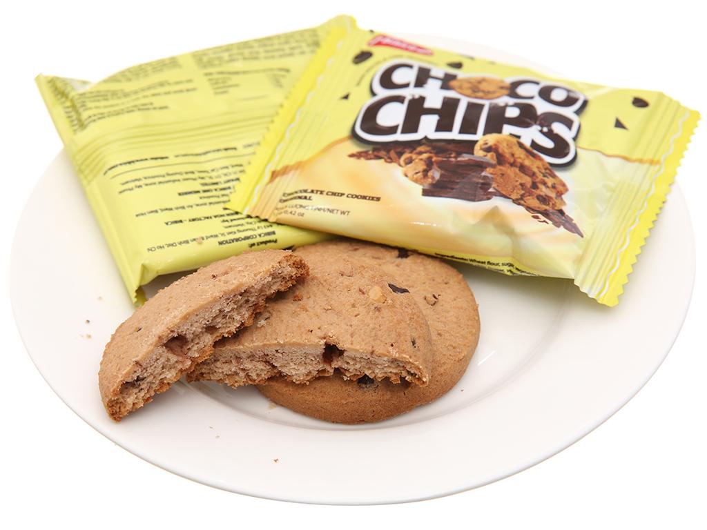 Bánh quy sôcôla chip Original Choco Chips hộp 144g 4