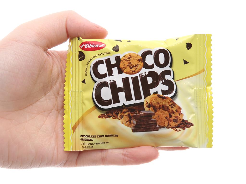 Bánh quy sôcôla chip Original Choco Chips hộp 144g 5