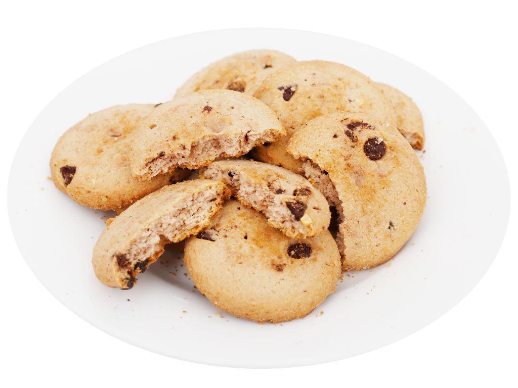 Bánh quy socola chip hạt điều Goody Chips gói 80g 7