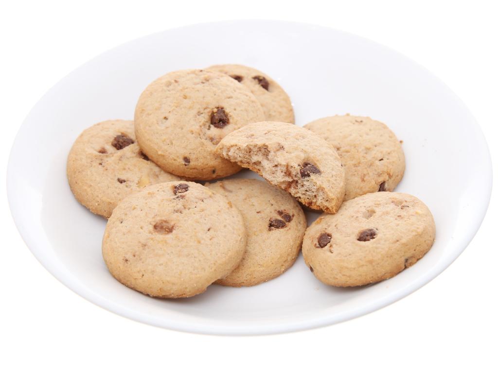 Bánh quy ngọt Choco Chips hạt socola, hạt điều 80g 4