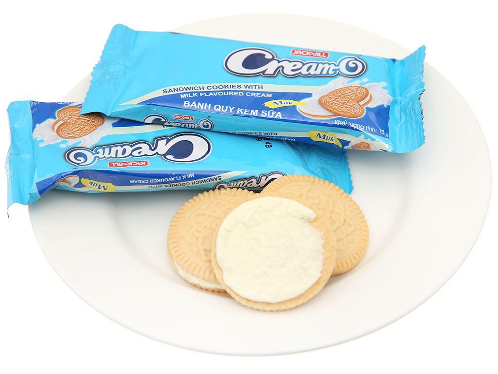 Bánh quy Cream-O nhân kem hương sữa 156g 4