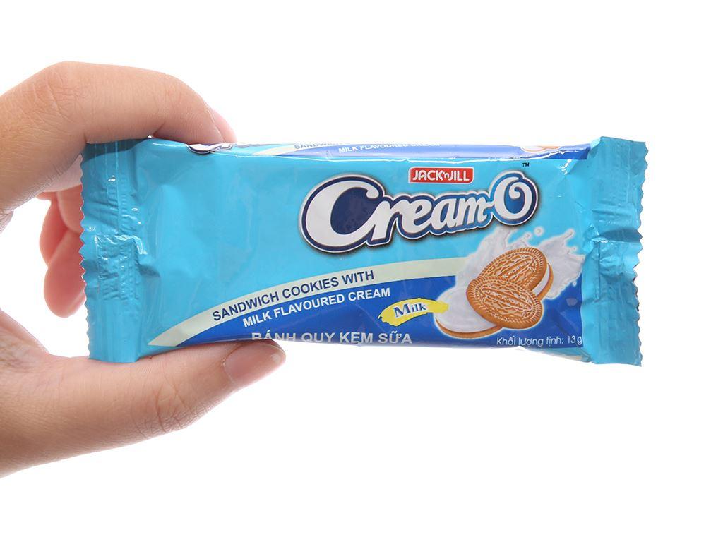 Bánh quy Cream-O nhân kem hương sữa 156g 5