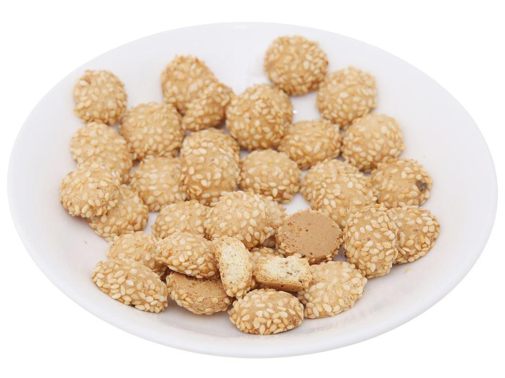 Bánh quy mè nhỏ Hương Việt gói 110g 4