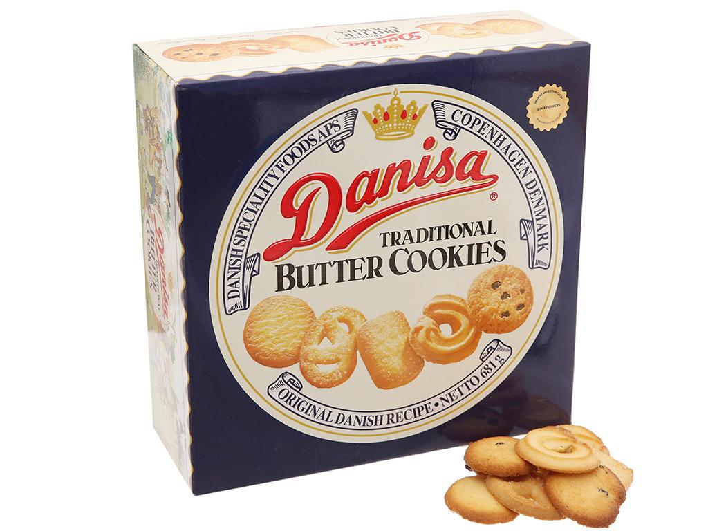 Bánh quy bơ Danisa hộp 681g 1
