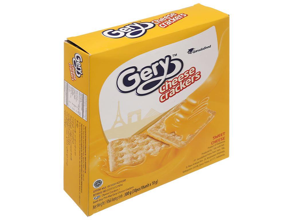 Bánh cracker phô mai Gery hộp 300g 1