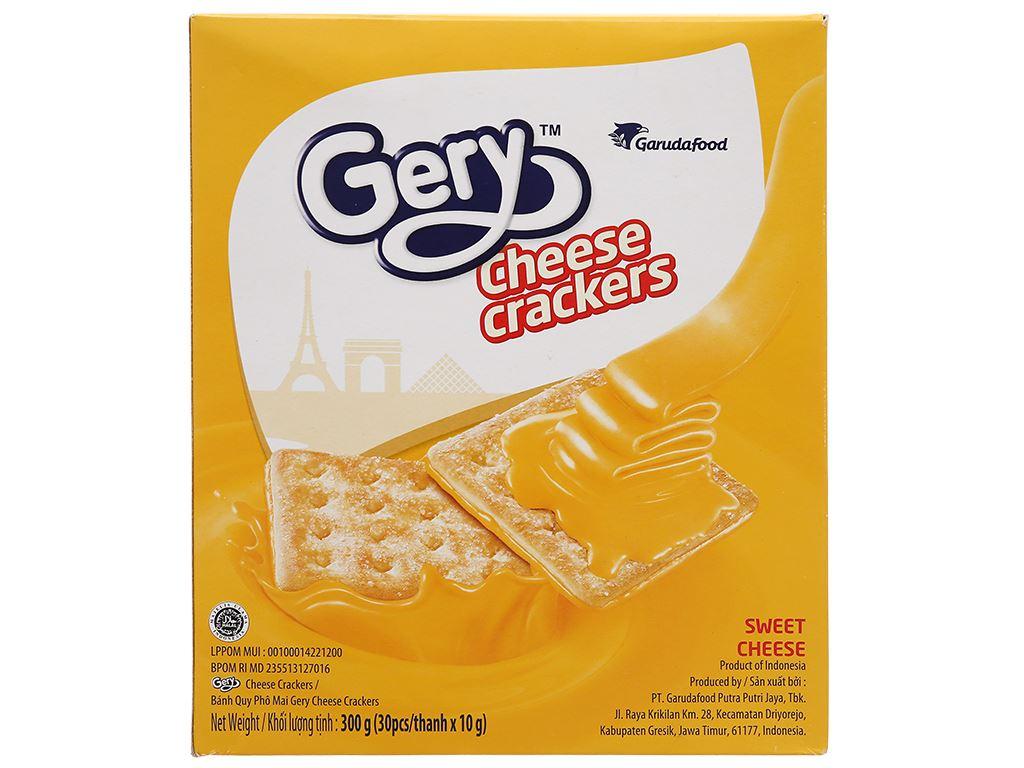 Bánh cracker phô mai Gery hộp 300g 2