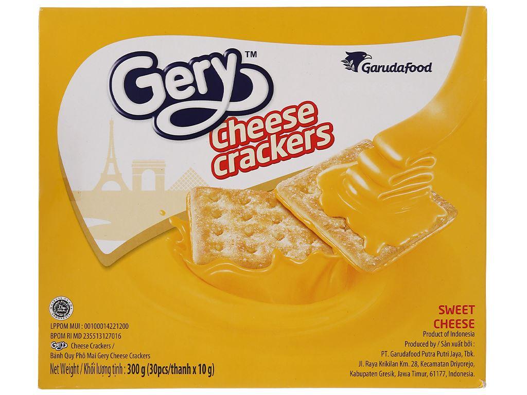 Bánh cracker phô mai Gery hộp 300g 3