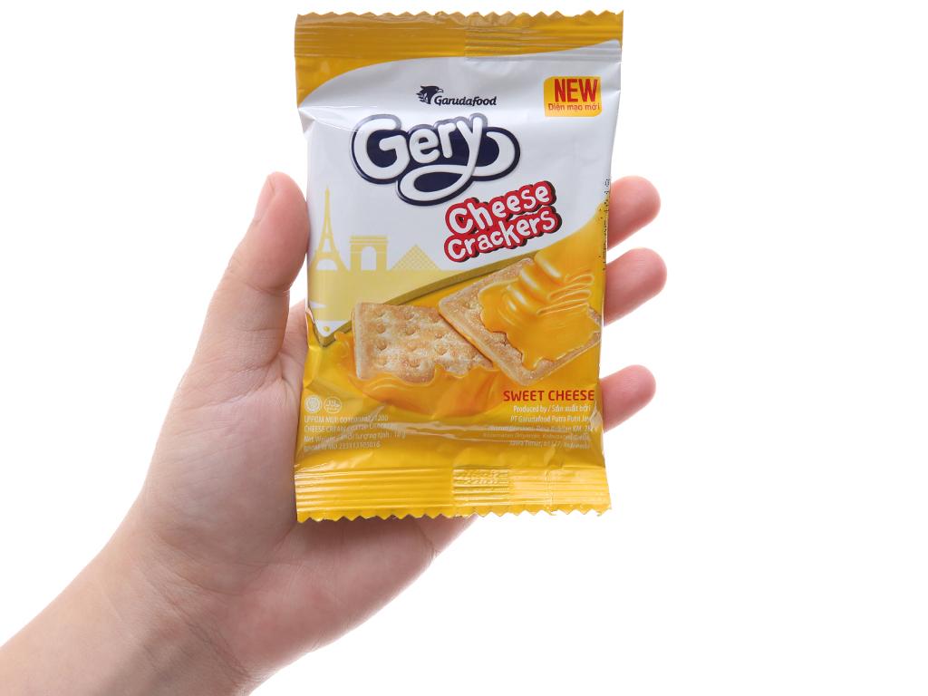 Bánh quy ngọt GarudaFood gery kem phô mai 300g 5